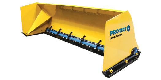 Steel Edge Sno Pusher, sectional snow pusher