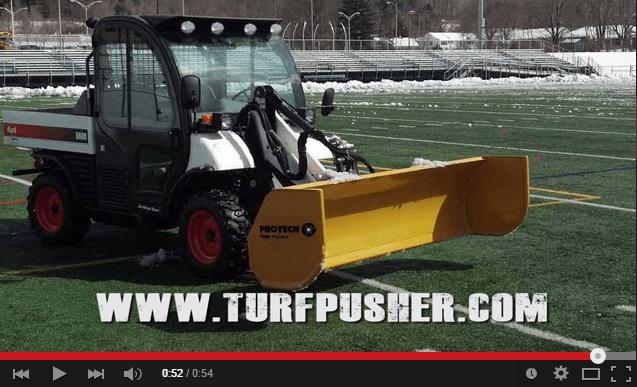 Pro-Tech Turf Pusher