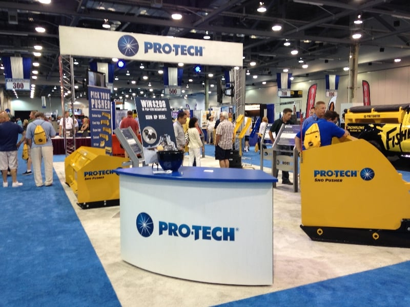 Pro-Tech at Trade Show