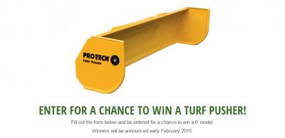 Turf Pusher Contest