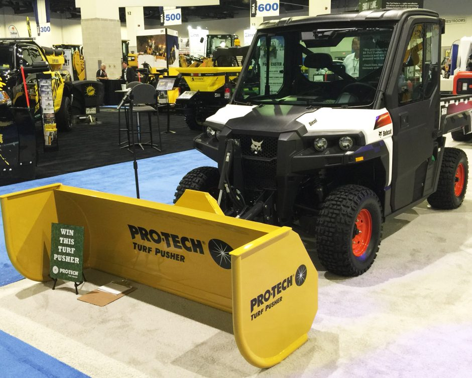 Pro-Tech Turf Pusher Now Available for Bobcat and Polaris