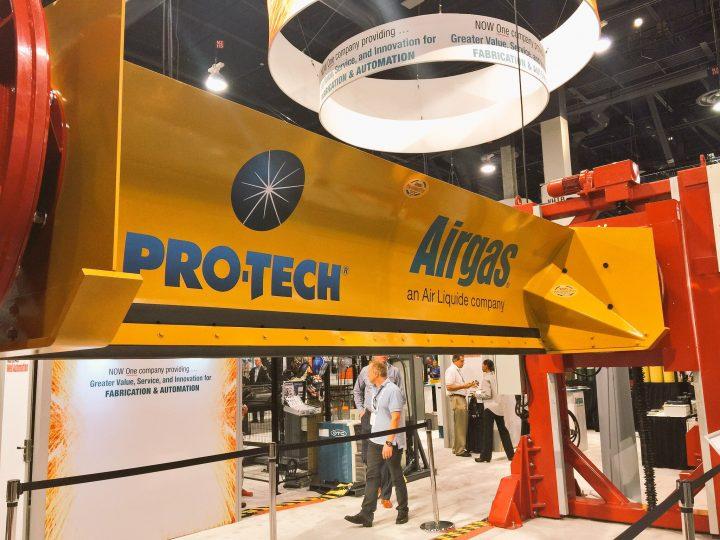 pro-tech airgas sno pusher