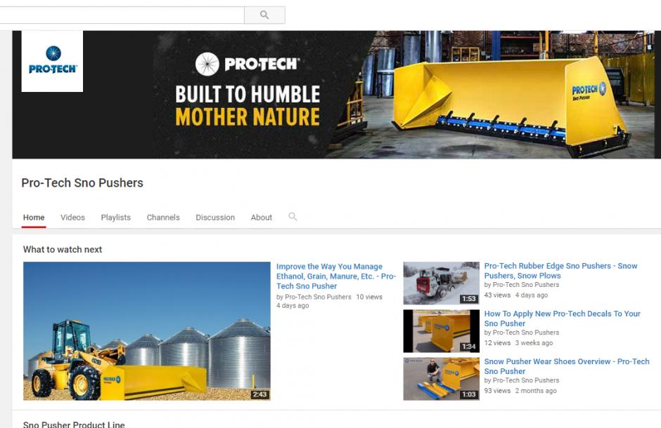 Pro-Tech YouTube Channel