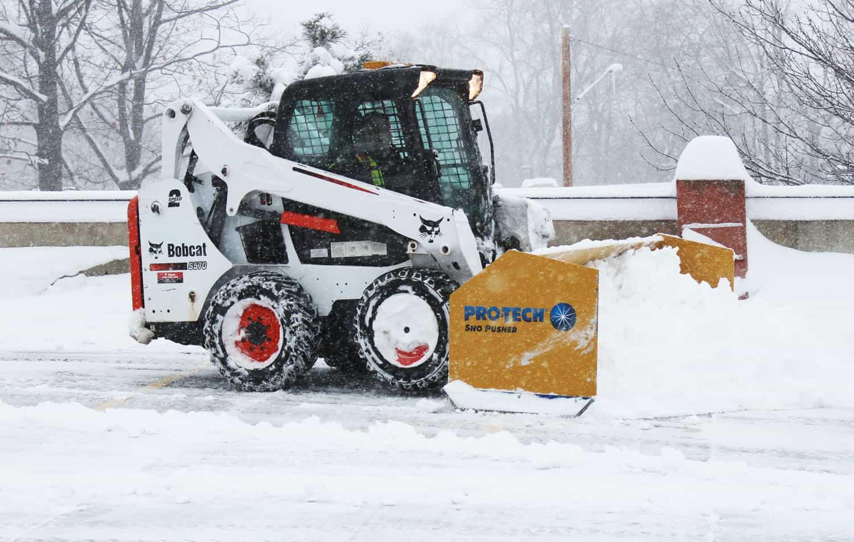 Rubber Edge Snow Pusher | Pro-Tech Sno Pusher