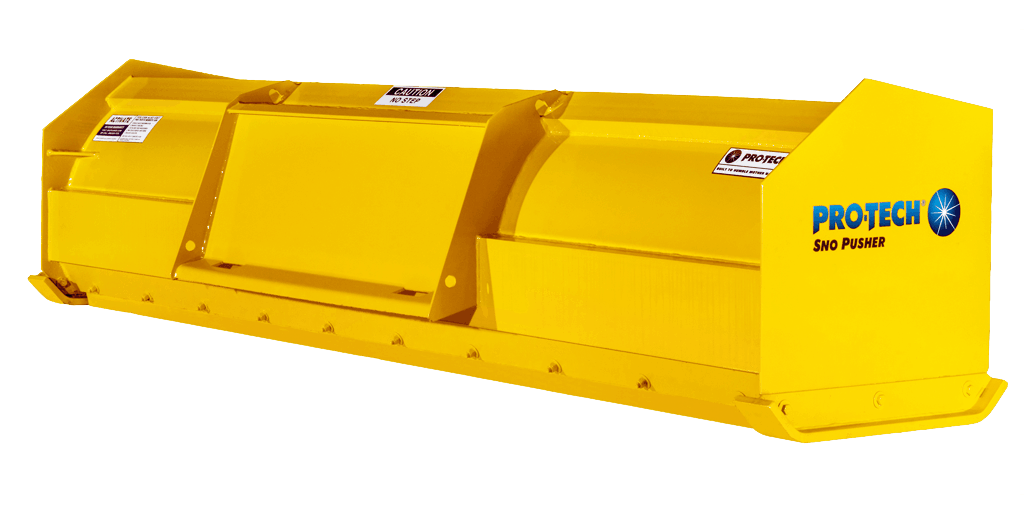 Snow Pusher for Compact Tractors