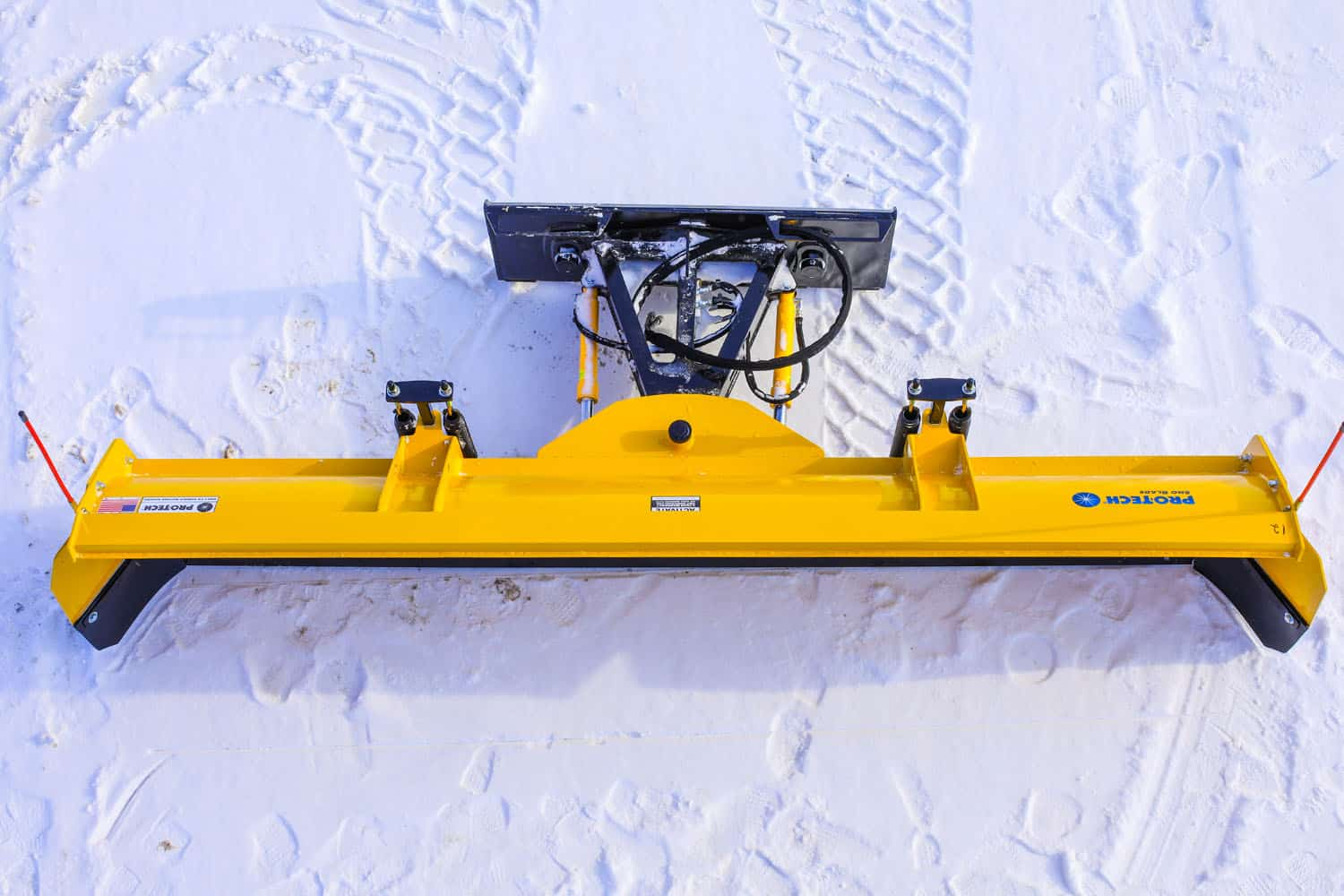 sno blade attachment