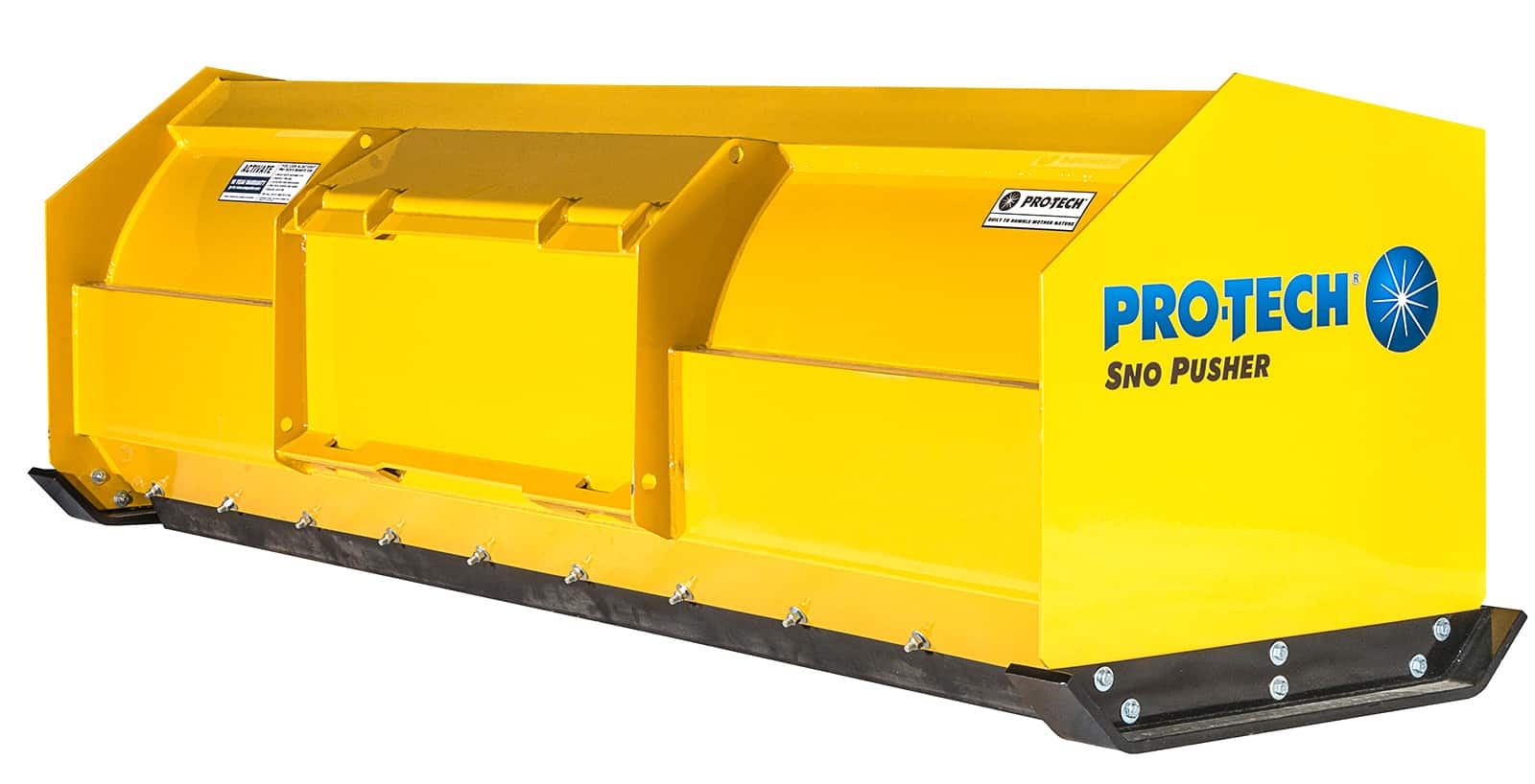 Snow Pusher for Compact Wheel Loader