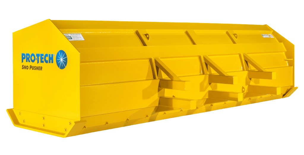 Snow Pusher For Loaders