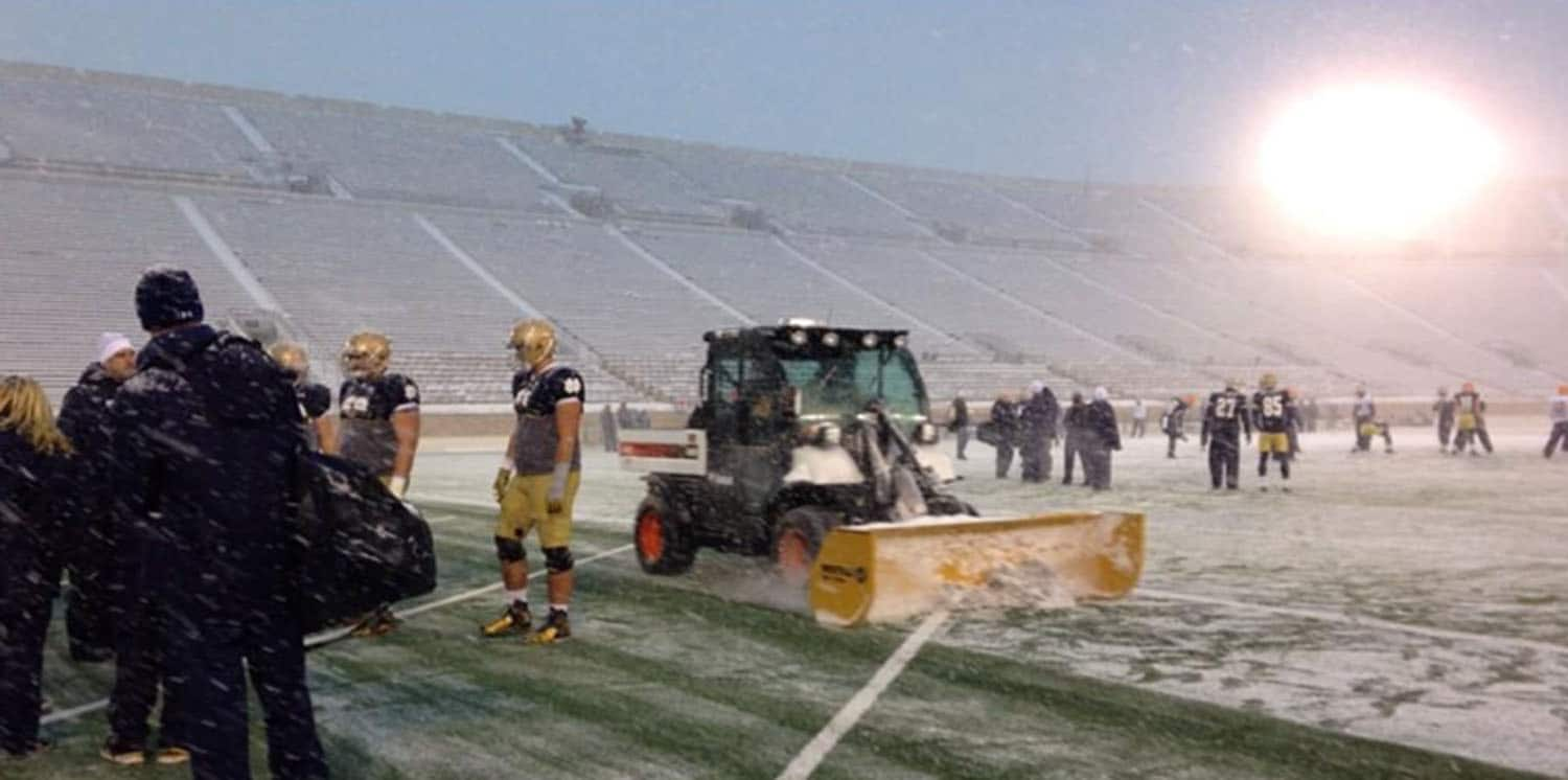 notre dame turf pushers