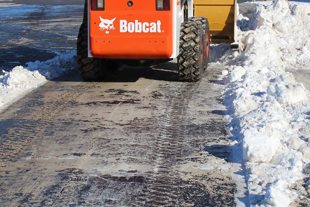 Bobcat Steel Snow Pusher
