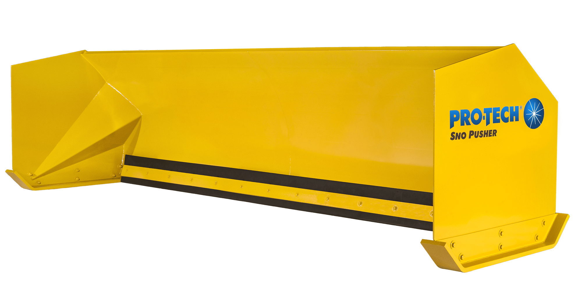 Pro Tech Sno Pusher Snow Pushers Plows And Containment Fisher Plow Hydraulic Wiring Diagram Rubber Edge