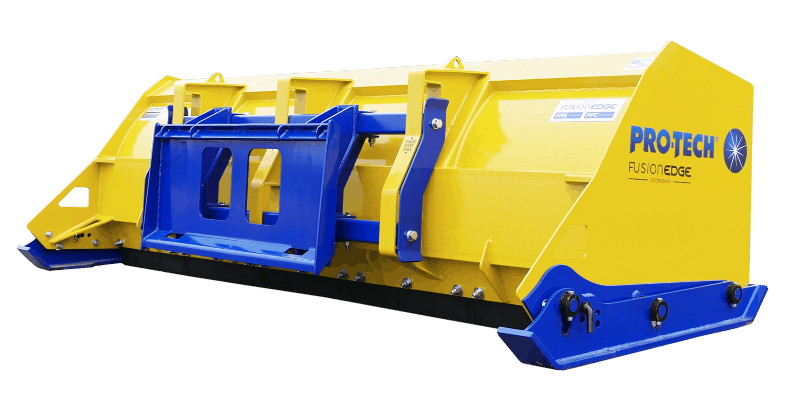 Snow Pusher Coupler