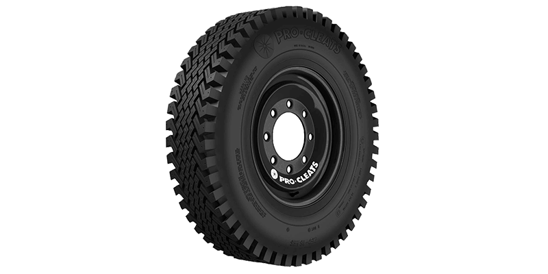 pro cleat skid steer snow tire